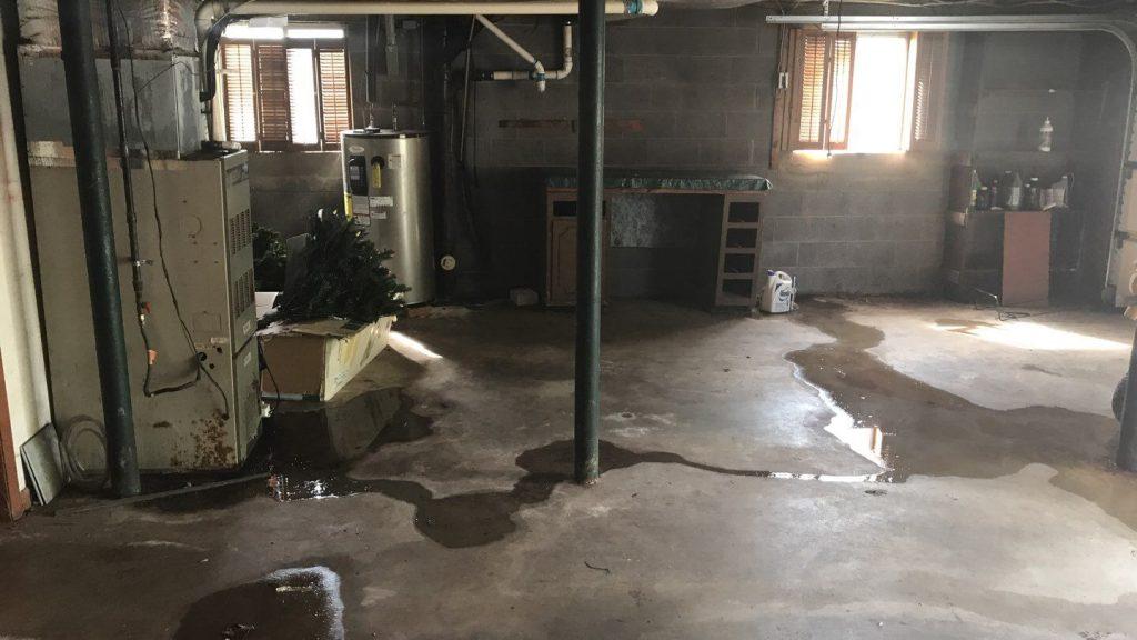Knoxville TN Wet Basement